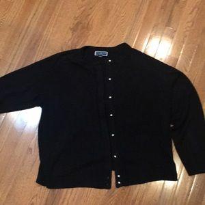 Karen Scott super soft cardigan sweater.  3X